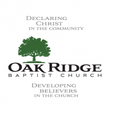 Oak Ridge Baptist Church Logo