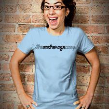 Anchorage Script Tshirt