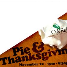 Pie & Thanksgiving Brochure