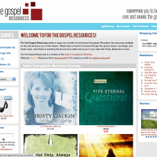 store.4thegospel.org Website