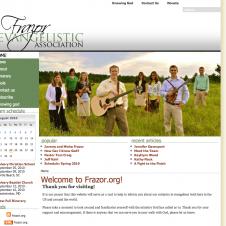 frazor.org web design
