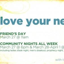 Love Your Neighbor Week