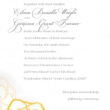 Weigle Wedding Invite