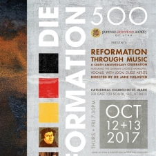 Die Reformation Concert Poster